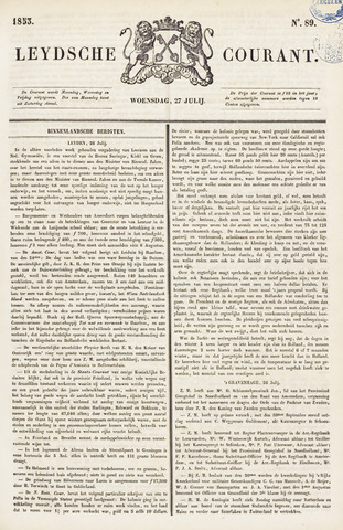 Leydse Courant 1853-07-27