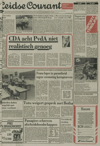 Leidse Courant 1985-08-19