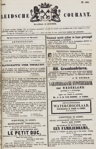 Leydse Courant 1884-10-13