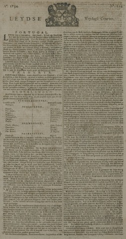 Leydse Courant 1734-10-15