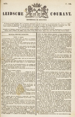 Leydse Courant 1872-08-22