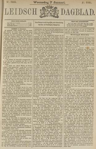 Leidsch Dagblad 1885-01-07