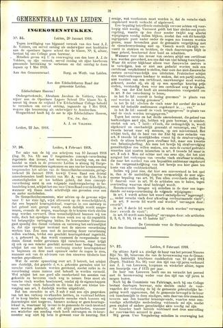 Handelingen van de Raad 1918-01-29