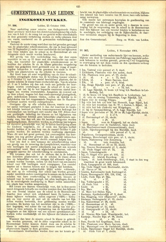 Handelingen van de Raad 1901-10-25
