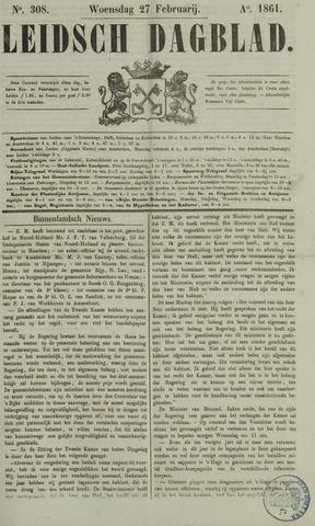 Leidsch Dagblad 1861-02-27