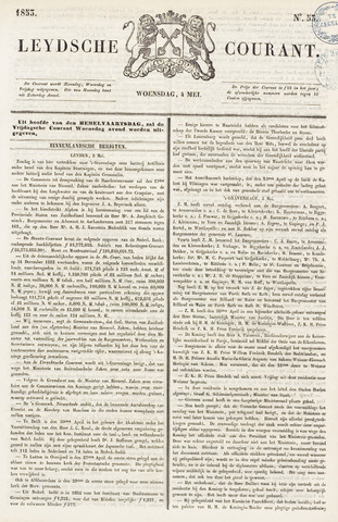 Leydse Courant 1853-05-04