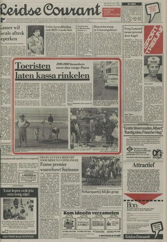 Leidse Courant 1987-04-21