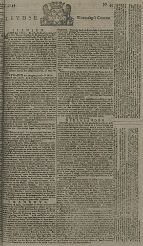 Leydse Courant 1749-04-23