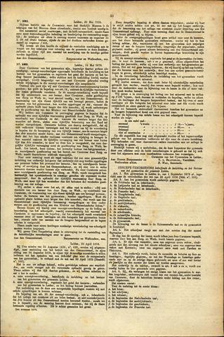 Handelingen van de Raad 1879-05-23