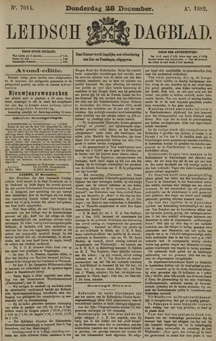 Leidsch Dagblad 1882-12-28