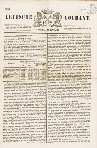Leydse Courant 1862-01-15