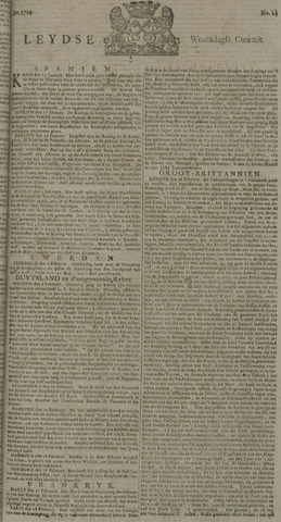 Leydse Courant 1729-02-23