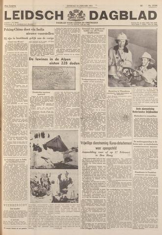 Leidsch Dagblad 1951-01-23