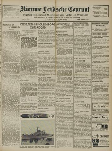 Nieuwe Leidsche Courant 1938-01-15