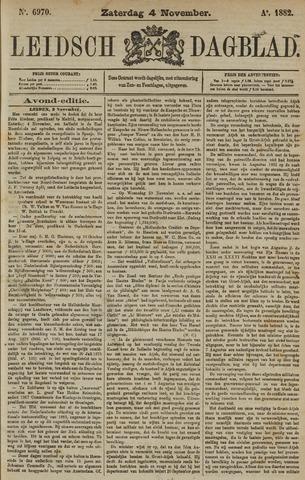 Leidsch Dagblad 1882-11-04