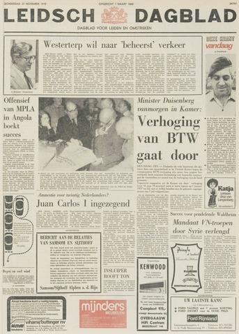 Leidsch Dagblad 1975-11-27