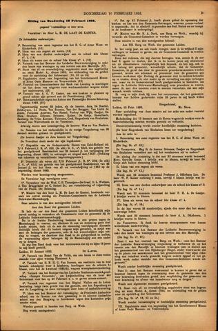 Handelingen van de Raad 1893-02-16