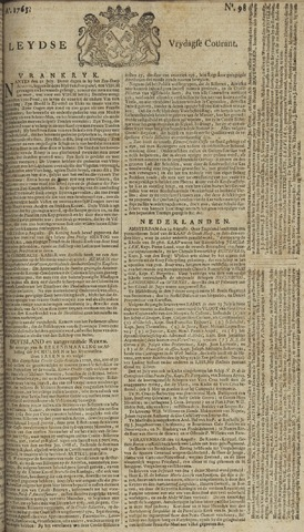 Leydse Courant 1765-08-16