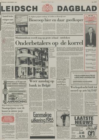 Leidsch Dagblad 1985-11-05