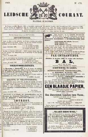 Leydse Courant 1869-10-18
