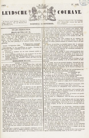 Leydse Courant 1865-09-13