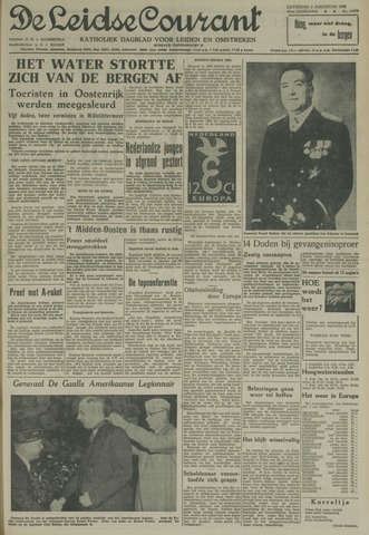Leidse Courant 1958-08-02