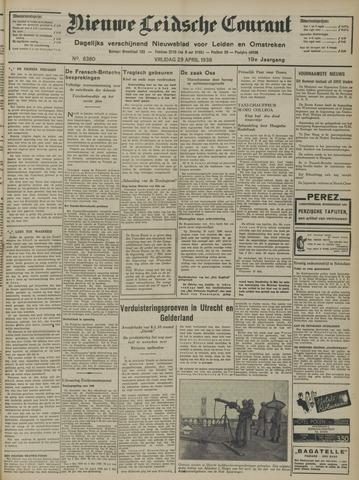 Nieuwe Leidsche Courant 1938-04-29