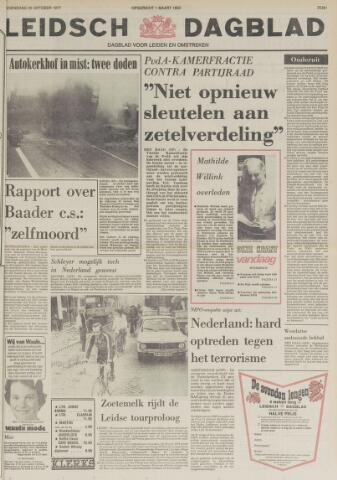 Leidsch Dagblad 1977-10-26