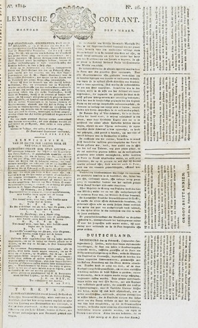 Leydse Courant 1824-03-01
