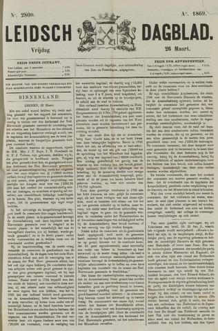 Leidsch Dagblad 1869-03-26