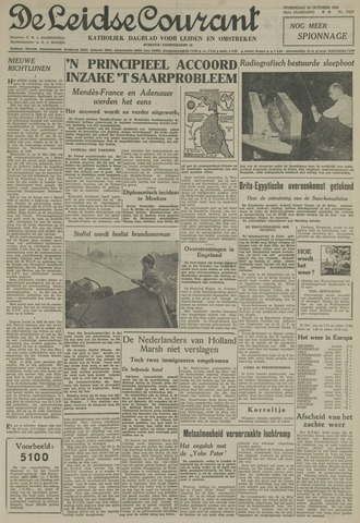 Leidse Courant 1954-10-20