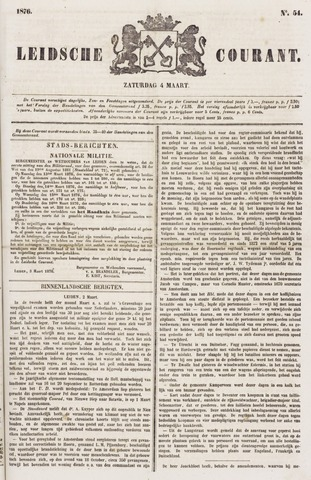 Leydse Courant 1876-03-04