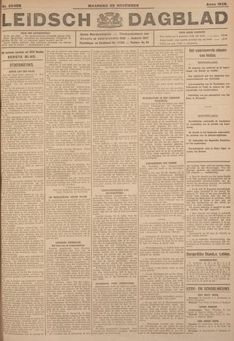 Leidsch Dagblad 1926-11-22