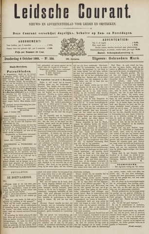 Leydse Courant 1885-10-08