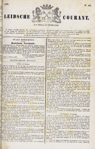 Leydse Courant 1879-02-19