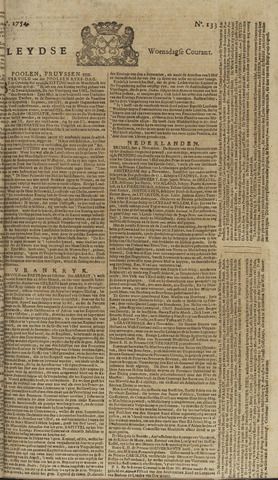 Leydse Courant 1754-11-06