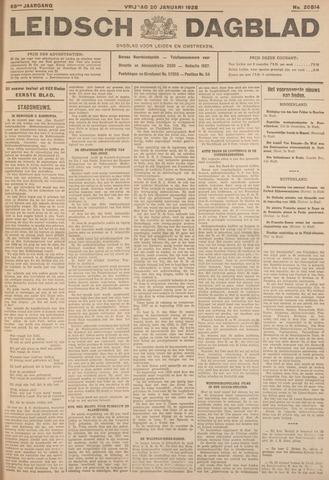 Leidsch Dagblad 1928-01-20