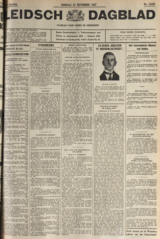 Leidsch Dagblad 1932-11-22