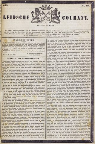 Leydse Courant 1879-06-27