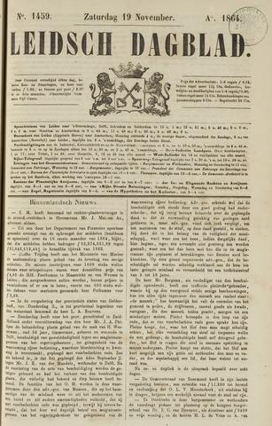 Leidsch Dagblad 1864-11-19