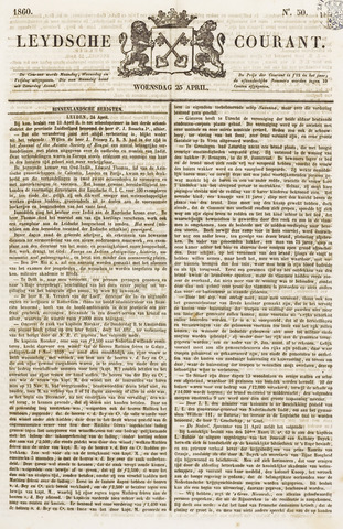 Leydse Courant 1860-04-25