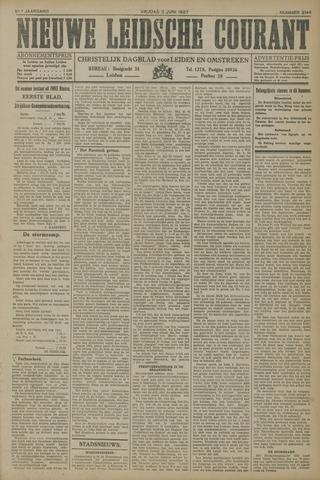 Nieuwe Leidsche Courant 1927-06-03