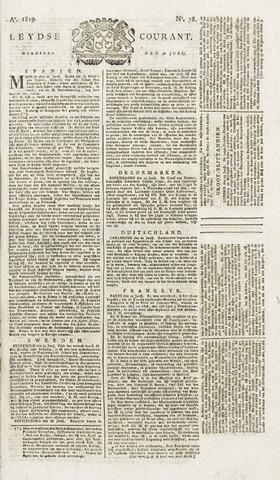 Leydse Courant 1819-06-30