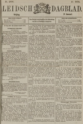 Leidsch Dagblad 1876-01-21