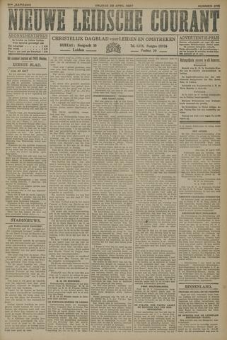 Nieuwe Leidsche Courant 1927-04-29