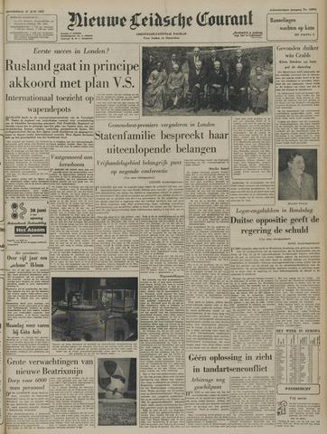 Nieuwe Leidsche Courant 1957-06-27