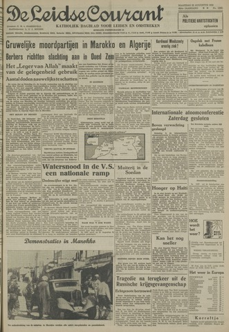 Leidse Courant 1955-08-22