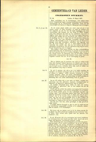 Handelingen van de Raad 1897-03-15