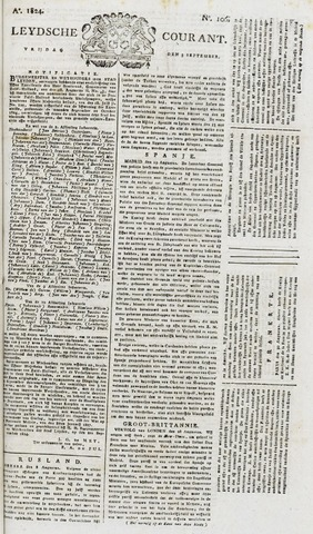 Leydse Courant 1824-09-03