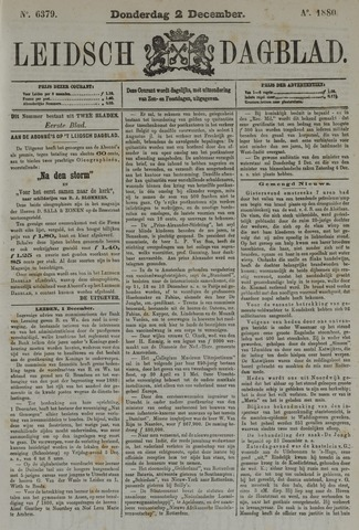 Leidsch Dagblad 1880-12-02